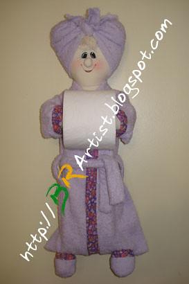 Boneca Porta-papel higiênico