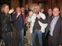 Leiden is er blij mee (3FM) Tags: leiden champagne fotolog beestenmarkt 3fm seriousrequest 3fmseriousrequest annemiekeschollaardt