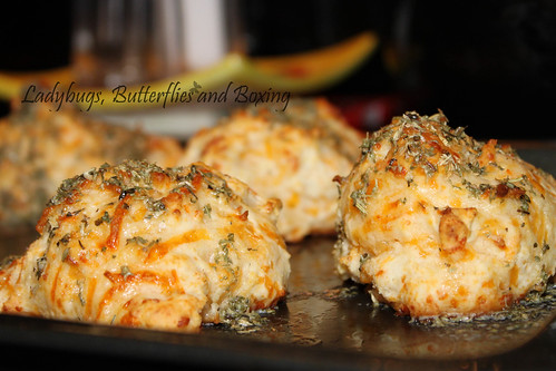 Cheddar Garlic Biscuits