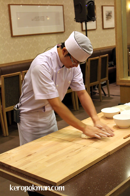 Preparing the Dough for the Skin