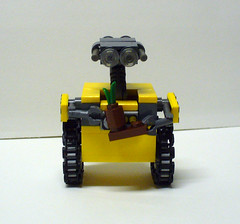 Walle 1 (Model Gal) Tags: lego walle creationsforcharity2010