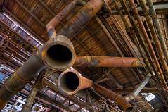 Mill #3: Britannia Mine Museum (bruce...) Tags: nikon rust chaos meetup decay pipe squamish hdr d300 bcminingmuseum tokina1116mmf28 britanniaminemuseum