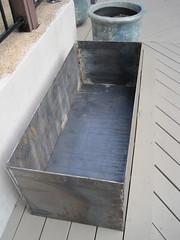 steel planter