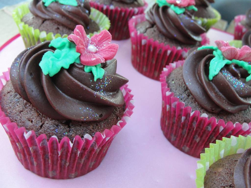 Crazy Chocolate Cake Cupcakes
