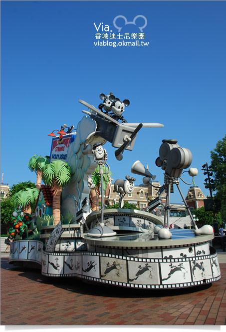 【香港迪士尼】跟著via玩香港(3)~迪士尼卡通人物歡樂巡遊14