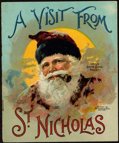 vintage santa 1901