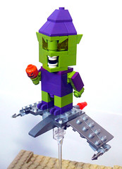 Gobby (Oky - Space Ranger) Tags: man green spider lego dude goblin cube octopus doc venom ock