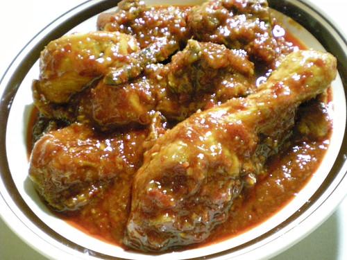 Bandong's ayam masak merah 2