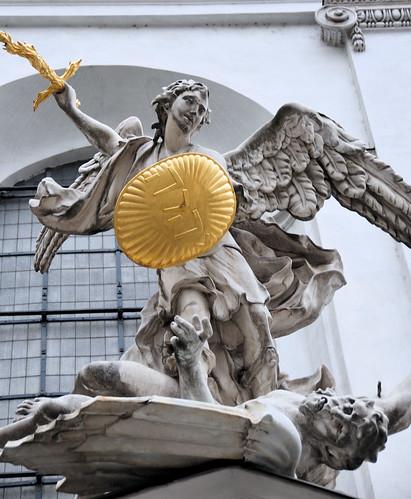 Archangel Michael Statues Archangel Michael Statue at