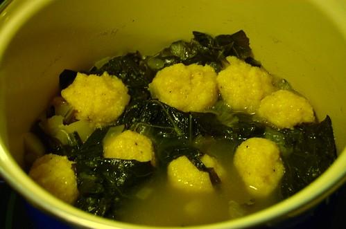 Collards With Cornmeal Dumplings Recipe recommend