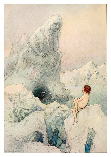 017-The water-babies a fairy tale for land-baby 1909-ilustrado por  Warwick Goble