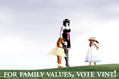 Slelections: For Family Values, Vote Vint!