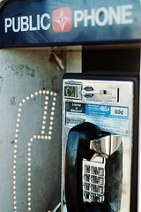 I don't know anyone who uses a pay phone. (emma,) Tags: nikond50 payphone