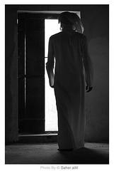 ,, { خطوة ندم لك مشيت ..  واعلم تراك إنتهيت (Nasser Bouhadoud) Tags: old bw canon eos 350d nasser doha qatar saher ناصر الذخيرة allil بوحدود