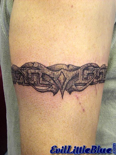 Abstract,Armband,tattoo,Permanent