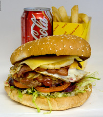 Metzis Tasty Takeaway Hamburger with the lot - Australian style! (Vanessa Pike-Russell) Tags: food canon tomato lunch blog bacon aperture bestof pentax sauce egg sigma australia meat delicious lettuce pineapple hamburger nsw mostinteresting faves portfolio f56 popular priority ist yumm dl reviews 2007 wollongong myfaves illawarra areyouhungryyet shellharbour wpm foodportfolio 125s pc2528 vanessapikerussell mountwarrigal metzistastytakeaway phlow:emote=yum illawarrafoodreviews vanessasfoodportfolio aninstantonthelips vanessapikerussellbest