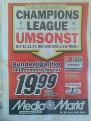 Champions League Umsonst - Werbung