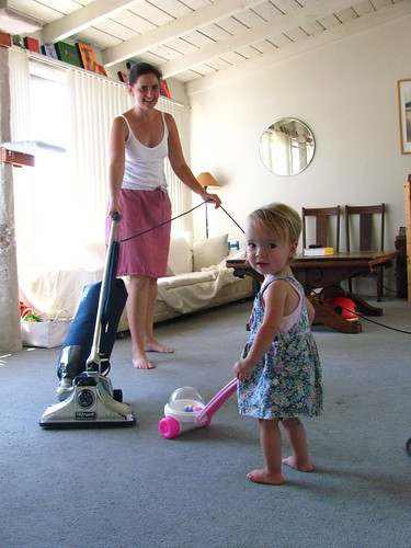we vacuum together