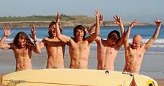 15 CHORE, DANI, PABLO, GIGI Y EPPO - SARDI (www.surfcantabria.com) Tags: sea mar surf waves olas surfcantabria maxidelcampo