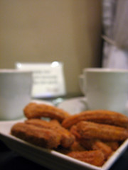 Churros and hot choco