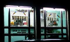 money changer (_gem_) Tags: street city urban money night evening philippines structures driveby places nighttime manila malate stores moneychanger currencyexchange metromanila foreignexchange moneychanging