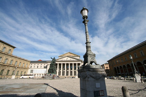 Residenz Palace, Max-Joseph Platz, National Theater and the Main Post Office