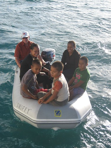 visitors Niuatoputapu