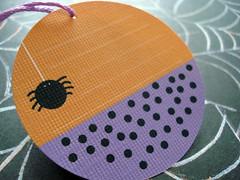 Trick-or-Treat...Custom Halloween Hang Tags (set of 6)