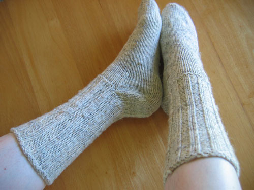 * My Dad wont wear socks, so I wont be giving him these - but they are great!