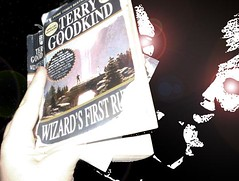 365days-Day95- Wizard's First Rule (tygrax) Tags: light wow dark book pain amazing faces good crying first days kind terry horror writer laughter 365 rule eww terrygoodkind 365days increadible goodkind wizardsfirstrule wiazrd sickning