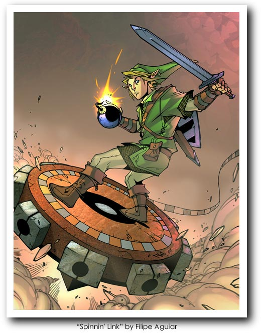 Legend of Zelda (Link) Art27