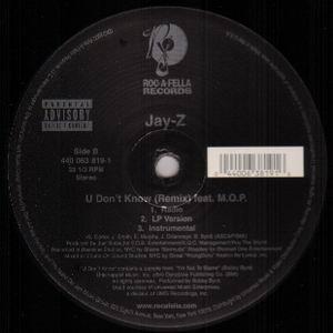 U Don't Know Instrumental