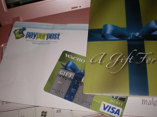 gift card -visa