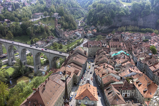 fribourg from above