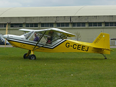 G-CEEJ (QSY on-route) Tags: kemble egbp gvfwe greatvintageflyingweekend 09052010 gceej