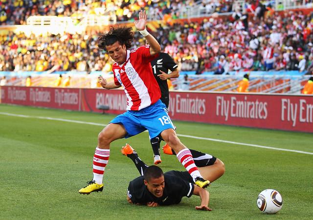 Paraguay Nueva Zelanda Mundial de Fútbol Sudáfrica