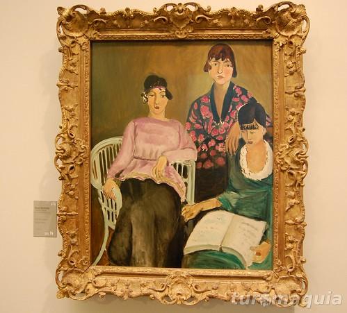Les Trois Soeurs, de Matisse