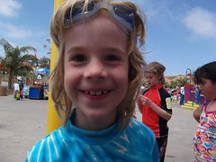 Silas @ the Legoland water park