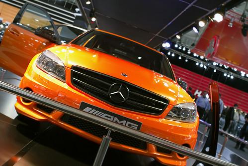 Mercedes Benz Sls Amg Blackbird. Mercedes-Benz C63 AMG quot;Jaffaquot; Concept
