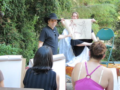 Life Drawing at the 2010 AFABW Arts Festival (with video)