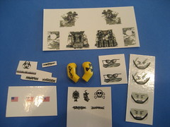 Thanks Roag!! (Da-Puma) Tags: lego arm military decal custom minifigure