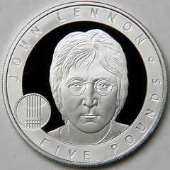 John Lennon coin