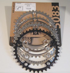 Stronglight 122mm BCD 38Tooth Chainrings (verktyg) Tags: stronglight chainrings 38t 122mm