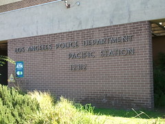 Los Angeles Police Department Pacific Station Signage