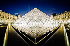 The Louvre (petecarr) Tags: paris france architecture dusk