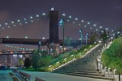 Brooklyn Bridge Park (joe3292) Tags: newyork brooklyn night brooklynbridge justpentax