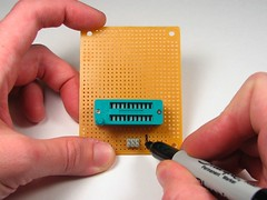 Mark pin 1
