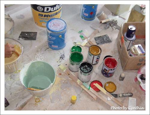 調漆的工具