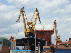 XIXON - ASTILLERO DE NAVAL GIJON (lluisda) Tags: asturias naval gijon xixon astilleros asturies lluisda