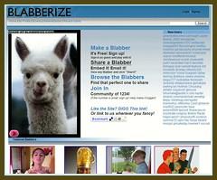 アメリカ版ニコニコ動画?「Blabberize」